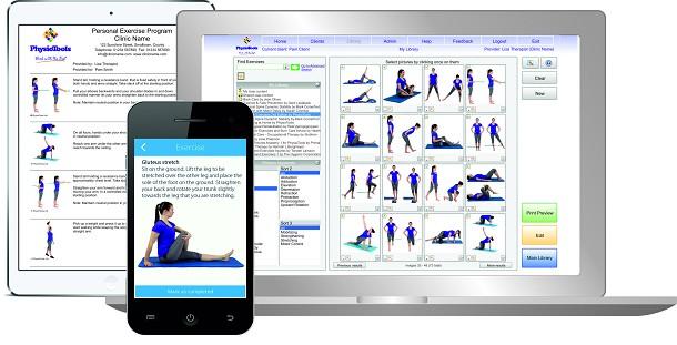 Physiotools software per creare schede esercizi acm for Software di progettazione domestica moderna